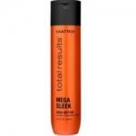 Фото Matrix Total Results Mega Sleek Shampoo - Шампунь с маслом Ши для гладкости волос, 300 мл.