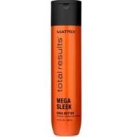 Купить Matrix Total Results Mega Sleek Shampoo - Шампунь с маслом Ши для гладкости волос, 300 мл.