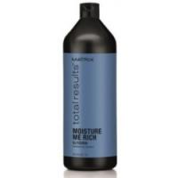 Matrix Total Results Moisture Me Rich Shampoo- Шампунь для увлажнения сухих волос с глицерином, 1000 мл.