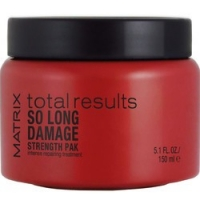 Matrix Total Results So Long Damage Strength Pak Intensive Treatment - Маска-уход для интенсивного восстановления волос, 150 мл