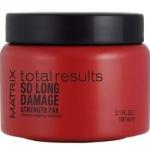 Фото Matrix Total Results So Long Damage Strength Pak Intensive Treatment - Маска-уход для интенсивного восстановления волос, 150 мл