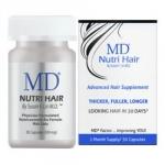 Фото MD Nutri Hair Supplements - Биологически активный комплекс для восстановления волос, 30 капсул