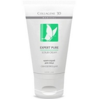 Medical Collagene 3D Expert Pure Scrub Cream - Крем-скраб для лица, 75 мл