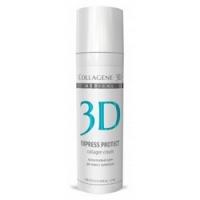 Medical Collagene 3D Express Protect - Коллагеновый крем для кожи с куперозом, 150 мл<br>
