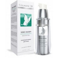 Купить Medical Collagene 3D Sebo Norm - Гель-пилинг для лица энзимный, 30 мл