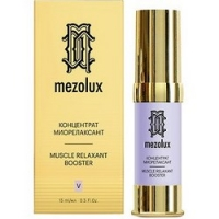 Mezolux Muscle Relaxant Booster - Концентрат-миорелаксант для лица, 15 мл