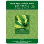 Фото Mijin Fresh Aloe Essence Mask - Маска тканевая с экстрактом алоэ, 23 г