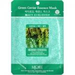 Фото Mijin Green Caviar Essence Mask - Маска тканевая с морским виноградом, 23 г