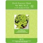Фото Mijin Herb Essence Mask - Маска тканевая с лечебными травами, 23 г