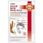 Фото Mijin Junico Crystal All-in-one Facial Mask Red ginseng - Маска тканевая c красным женьшенем, 25 г