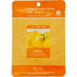Фото Mijin Lemon Essence Mask - Маска тканевая с лимоном, 23 г