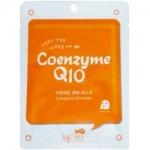Фото Mijin MJ Care Coenzyme Q10 Mask - Маска тканевая с коэнзимом, 22 г