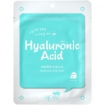 Фото Mijin MJ Care Hyaluronic Acid Mask - Маска тканевая с гиалуроновой кислотой, 22 г