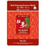 Фото Mijin Red Ginseng Essence Mask - Маска тканевая с красным женьшенем, 23 г