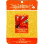 Фото Mijin Vitamin Tree Essence Mask - Маска тканевая с облепихой, 23 г