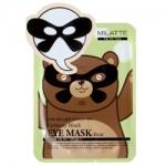 Фото Milatte Fashiony Black Eye Mask-Bear - Маска от морщин вокруг глаз, 10 г