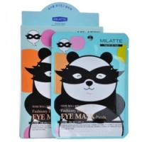 Milatte Fashiony Black Eye Mask-Panda - Маска от морщин и темных кругов вокруг глаз, 10 г