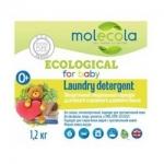 Фото Molecola - Стиральный порошок для белого и цветного белья, 1,2 кг