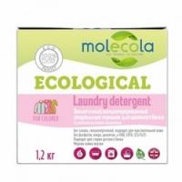 Molecola - Стиральный порошок для цветного белья с растительными энзимами экологичный12 кг.