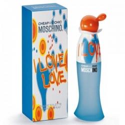 Фото Moschino I Love Love  - Туалетная вода спрей 100 мл