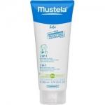 Фото Mustela Bebe - Гель-шампунь для головы и тела 2в1, 200 мл
