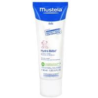 Mustela Bebe - Крем для лица увлажняющий, 40 мл.