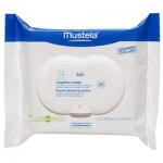 Фото Mustela Bebe - Салфетки очищающие для лица, 25 шт.