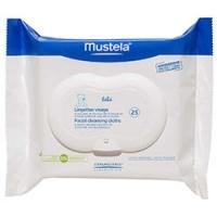 Mustela Bebe - Салфетки очищающие для лица, 25 шт.
