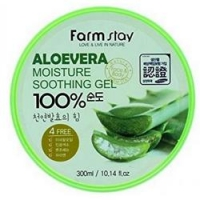 Купить FarmStay Soothing Gel Aloe Vera - Многофункциональный смягчающий гель с экстрактом Алое Вера, 300 г
