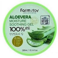 FarmStay Soothing Gel Aloe Vera - Многофункциональный смягчающий гель с экстрактом Алое Вера, 300 г