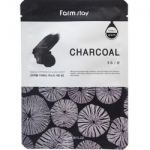 Фото FarmStay Visible Difference Charcoal - Тканевая маска с углем, 23 мл