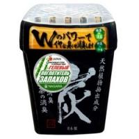 Nagara - Поглотитель запаха гелевый с бамбуковым углем и зеленым чаем, 320 г