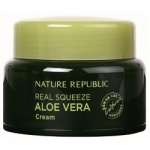 Фото Nature Republic Real Squeeze Aloe Vera Cream - Крем для лица с экстрактом алоэ, 50 мл