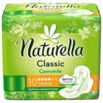 Фото Naturella Camomile Classic Normal - Прокладки гигиенические с крылышками, 10 шт