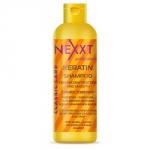 Nexxt Professional Keratin Shampoo - Кератин-шампунь для реконструкции и разглаживания волос, 250 мл