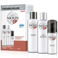 Купить Nioxin Starter Kit System 4 - Набор (Система 4) 300 мл+300 мл+100 мл