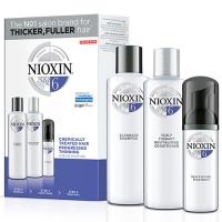 Купить Nioxin System 6 Kit - Набор (Система 6) 300 мл+300 мл+100 мл