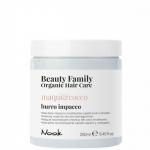 Фото Nook Beauty Family Organic Hair Care Burro Impacco Souffle Maqui & Cocco - Восстанавливающая маска для сухих и поврежденных волос, 250 мл