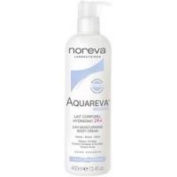 Noreva Aquareva 24H moisturising body cream - Молочко увлажняющее для тела, помпа, 400 мл