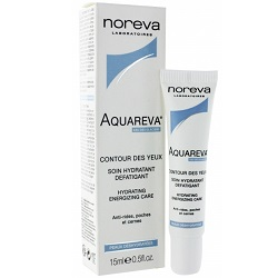 Фото Noreva Aquareva Contour des Yeux Hydrating Energizing Care - Увлажняющий энергнетический гель для контура глаз, 15 мл