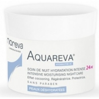 Noreva Aquareva Intensive moisturising night care - Интенсивный ночной увлажняющий уход, 50 мл