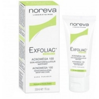 Noreva Exfoliac Acnomega 100 matifying care - Крем 100, 30 мл