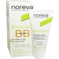 Noreva Exfoliac BB Creme - ВВ крем, светлый тон, 30 мл