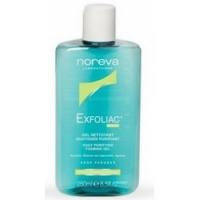 Noreva Exfoliac cleansing gel - Гель мягкий очищающий для лица, 250 мл