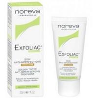 Noreva Exfoliac Golden tinted cream - Тональный крем для проблемной кожи, золотистый, 30 мл