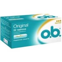 O.b. Original Normal - Тампоны женские гигиенические, 32 шт фото