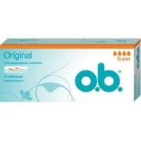 Купить O.b. Original Super - Тампоны женские гигиенические, 16 шт