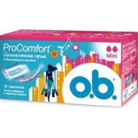 O.b. ProComfort Mini - Тампоны женские гигиенические, 16 шт  - Купить