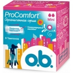 Фото o.b. ProComfort Mini - Тампоны женские гигиенические, 8 шт