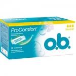 Фото o.b. ProComfort Normal - Тампоны женские гигиенические, 16 шт